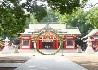 6月30日 夏越大祓式・茅の輪神事