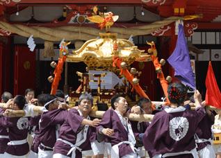 7月19日 夏越大祭・神輿巡行