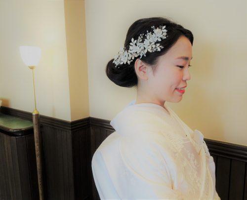 白無垢ヘッドドレス