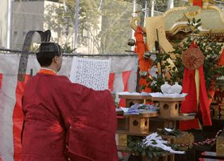10月19日 秋季大祭・潮掻き神事