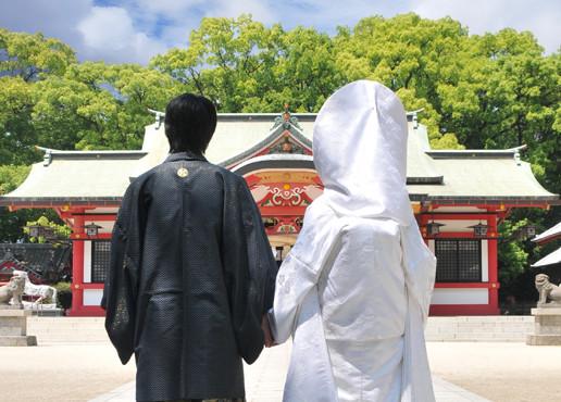 春日神社での挙式について